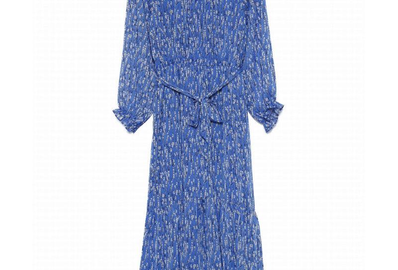 Kleid Flower royalblau