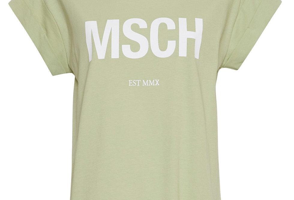 Moss Copenhagen T-Shirt Alva light green