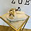 Thumbnail: Badesandale weiß & gold