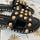 Thumbnail: Sandale schwarz Nieten