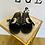Thumbnail: Badesandale schwarz & silber