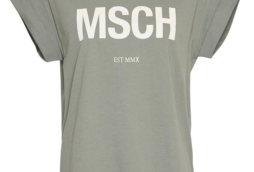 Msch Alva  T-Shirt kaki