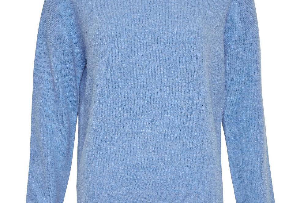 Msch Strickpullover blau
