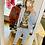 Thumbnail: Anzughose Jogger hellblau