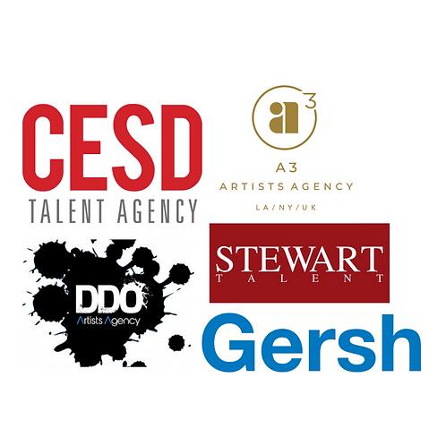 Bi-Coastal Online YOUTH 5-Agent Showcase with Gersh, CESD, A3, Stewart & DDO!