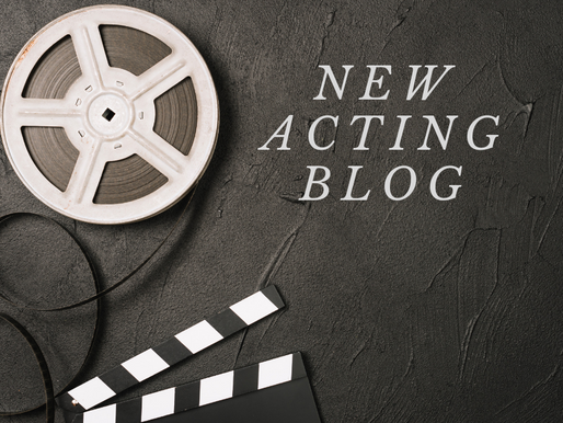 New Acting Blog: Here We Go!