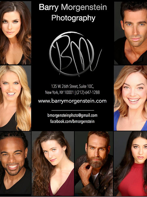 Headshots with Barry Morgenstein, Only $150!