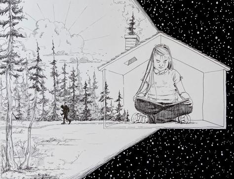 Little Big World // Saya Zeleznik — Illustration
