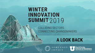 Spring Newsletter: Summit Highlights, Darren Walker Forbes x Sorenson article, and announcing SIPPRA services.