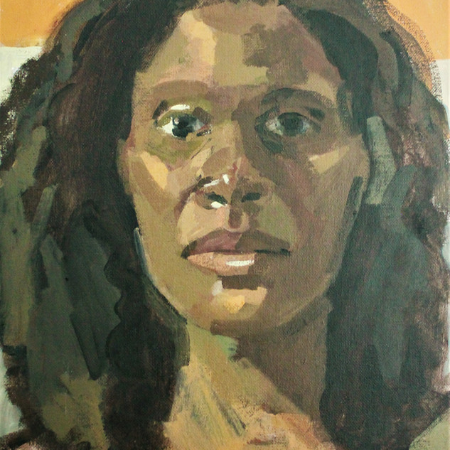 Untitled 2, Acrylic on canvas, 2019