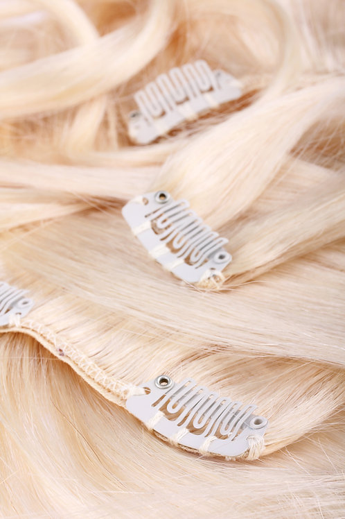 Russian Clip In Hair Extensions |