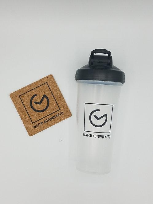 WAK Blender Bottle w/ Cork Coaster