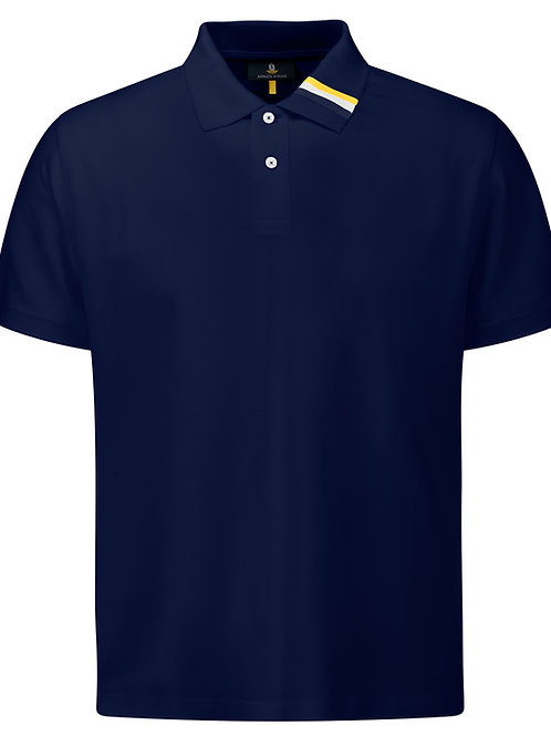 Man's short-sleeved polo