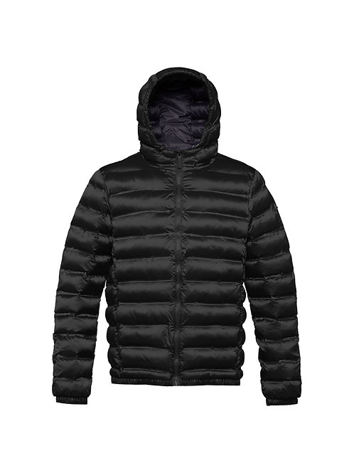 Man's jacket with hood