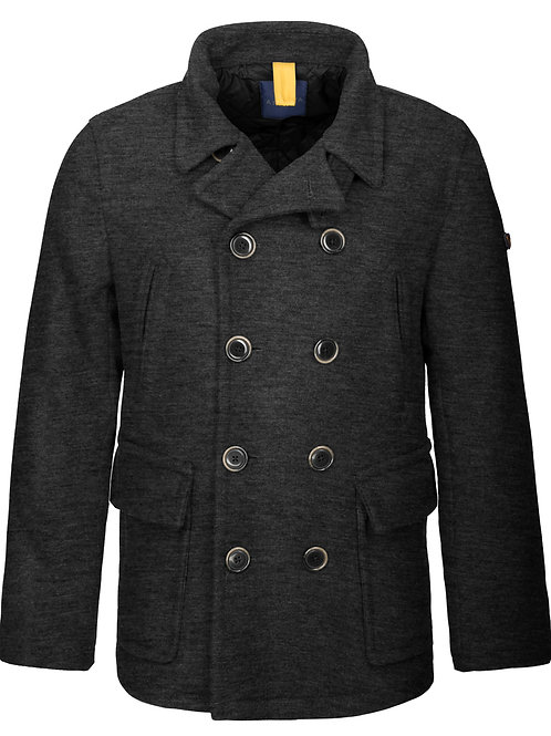 Man's coat without hood