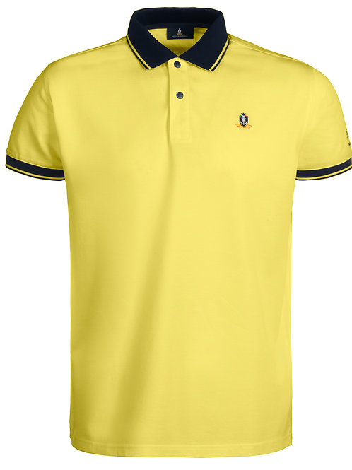 Short-sleeved man's polo