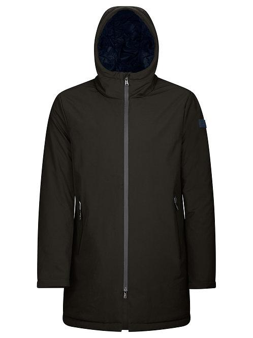 Man's coat with hood