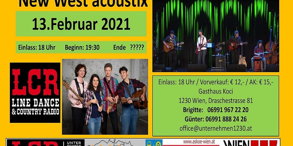 New West acoustix  ABGESAGT!!