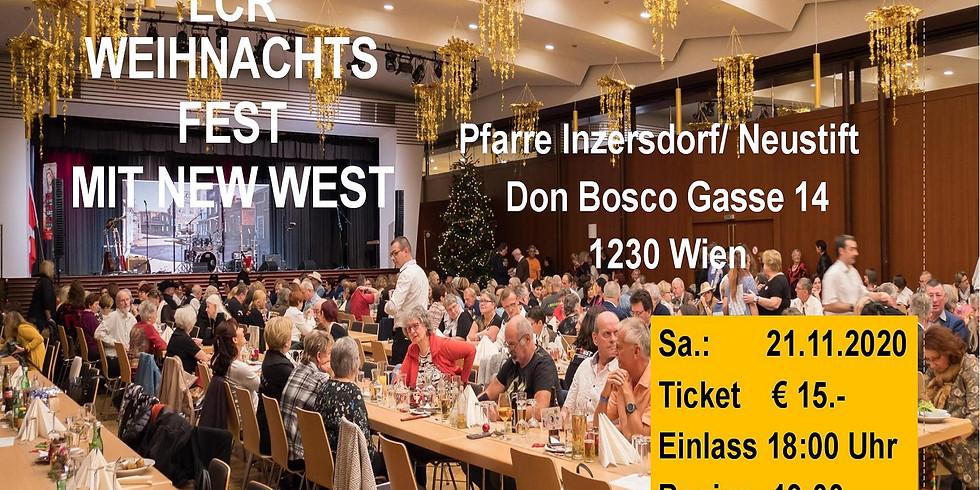 LCR - Weihnachtsfest mit New West    ABGESAGT