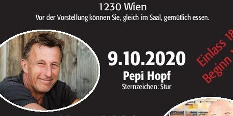 """Pepi Hopf, """" Sternzeichen stur"""""""