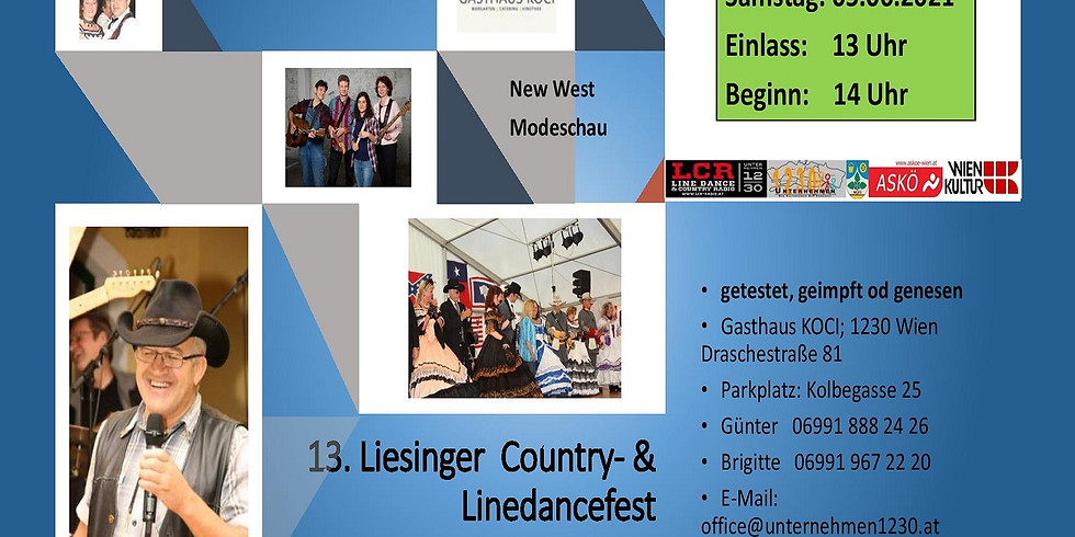 13. Liesinger Country & Linedance Fest mit New West