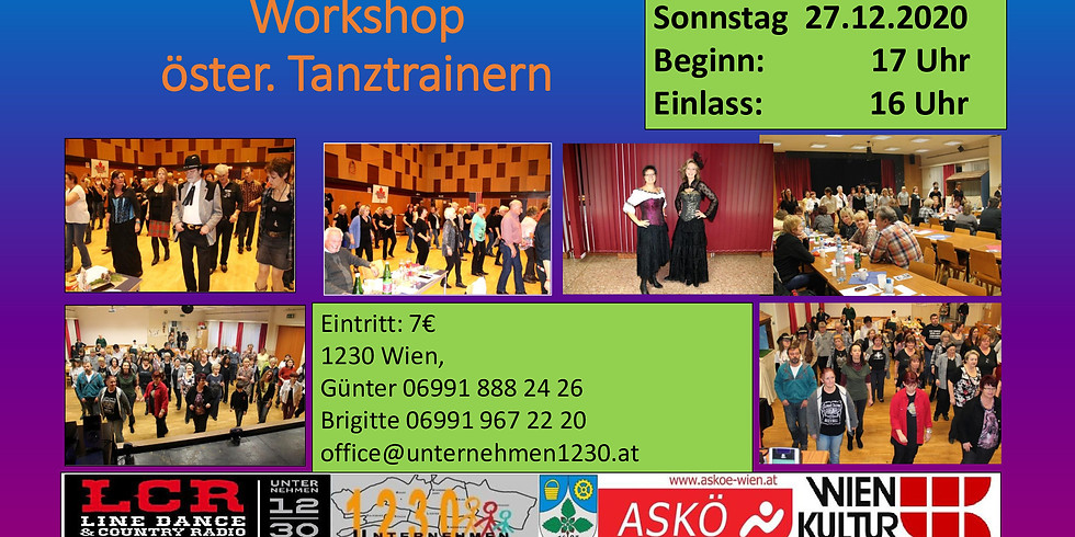 Workshop öster. Tanztrainern