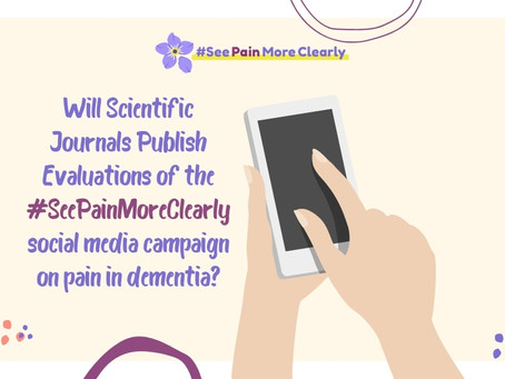 Will Scientific Journals Publish The Findings Of The #SeePainMoreClearly Campaign?