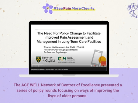 THE ARGUMENT FOR MORE FREQUENT PAIN ASSESSMENT IN LONG TERM CARE HOMES