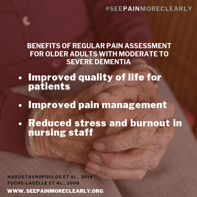 Benefits of regular pain assessments