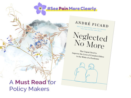 """André Picard's Latest Book """"Neglected No More"""" Is a Must Read for Policy Makers"""