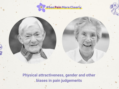Physical attractiveness, gender and other biases in pain judgements