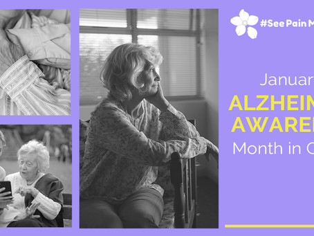January is Alzheimer's Awareness Month in Canada
