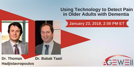 Using Technology to Detect Pain in Older Adults with Dementia