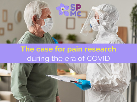 The Case for Pain Research During the COVID-19 Pandemic