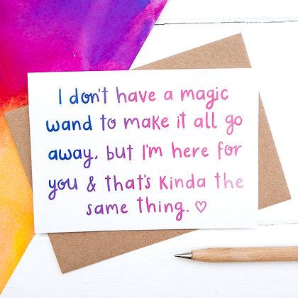 Magic wand - Empathy Card