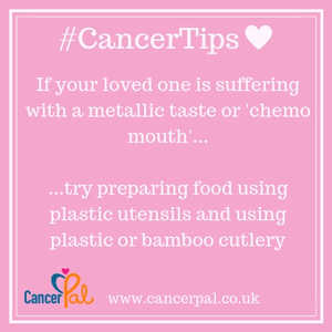 #CancerTips #ChemoMouth Bamboo Cutlery