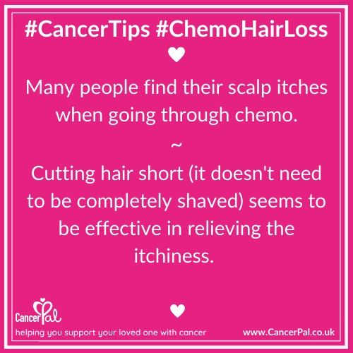 #CancerTips #Chemo Hairloss Itchy Scalp