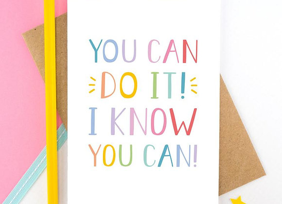 You Can Do It - Empathy Card