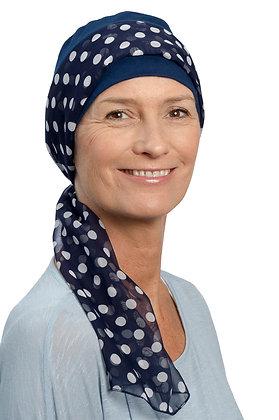 Chemo Headscarf with Hat - Sofia