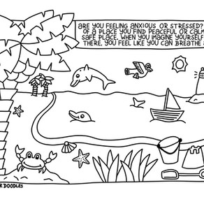 Guest Blog   Mindful Colouring