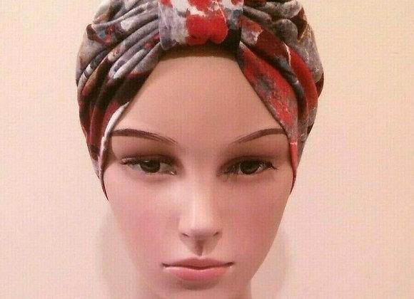 Watercolour Turban Chemo Hat