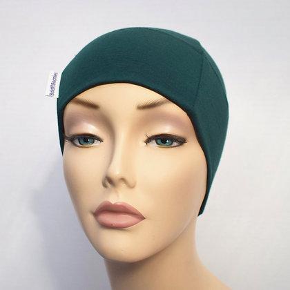 Plain Beanie Hat - Greens