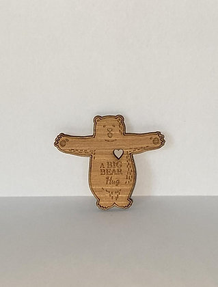 Wooden Bear Hug