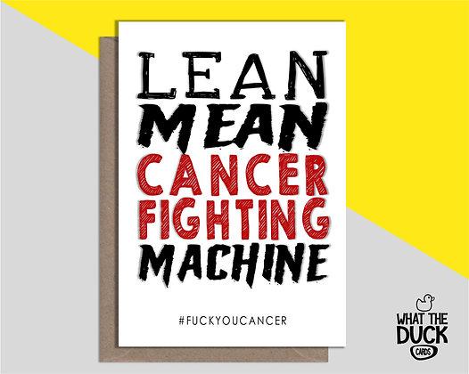 Cancer Fighting Machine - Empathy Card