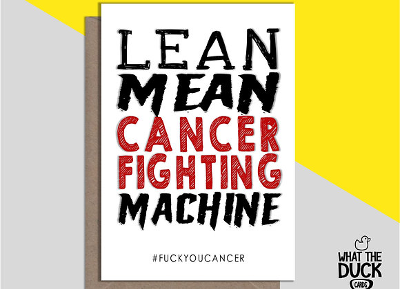 Cancer Fighting Machine - Empathy Card