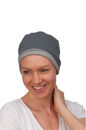Kim Reversible Soft Hat - Silver/Slate