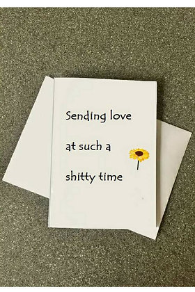 Sending love - Empathy Card