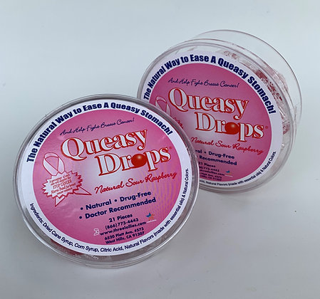 Queasy Drops  - Pink - 2 Pack