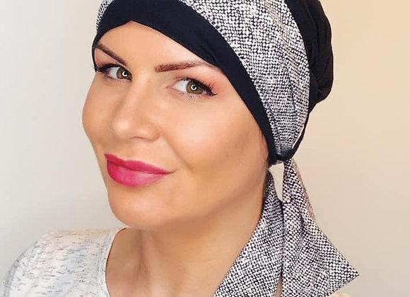 Anna Headscarf - Black