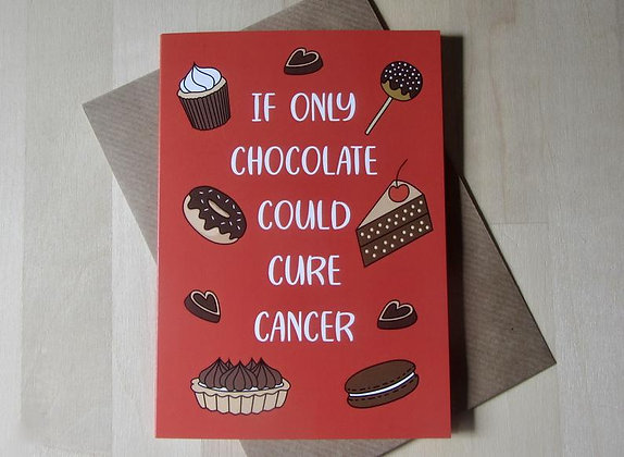 Chocolate Cure Cancer - Empathy Card